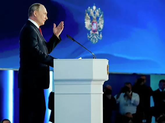 Путин Россияда туғилиш кўрсаткичи тушиб кетганини танқид қилди