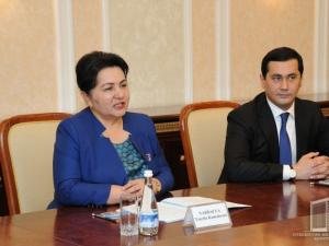 Танзила Норбоева Жаҳон банки вице-президенти билан учрашди