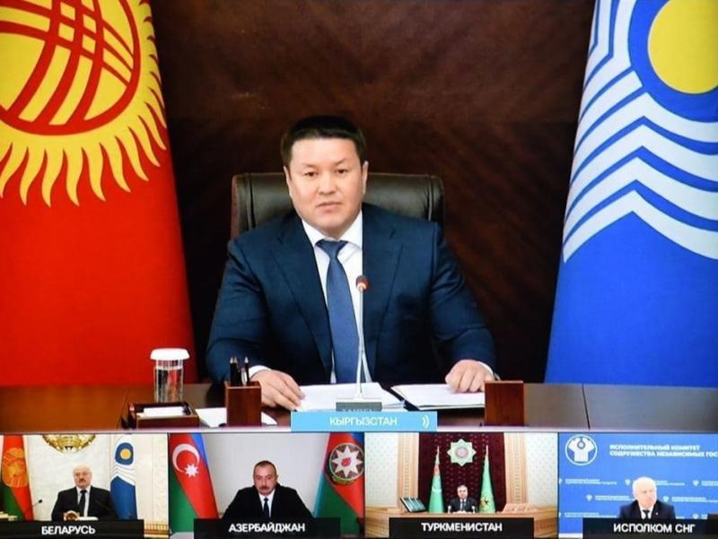 Qirg'iziston Prezidenti O'zbekistonga minnatdorlik bildirdi