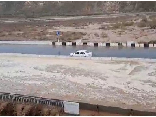 ФВВ Шерободда сел келгани ҳақидаги хабар юзасидан маълумот берди (видео)