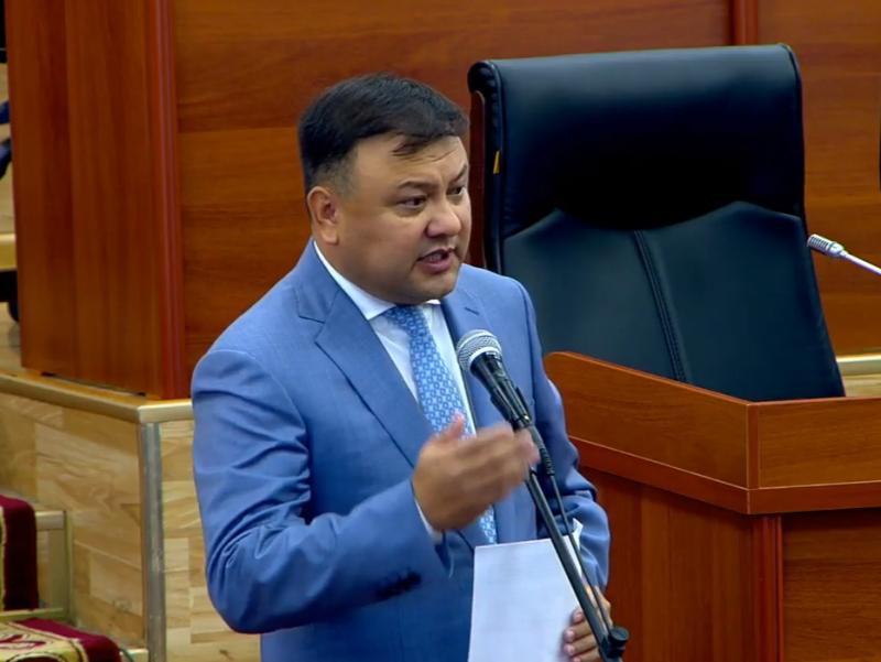 Сўх-Риштон йўли очилишига йўл қўймаймиз – Қирғизистон депутати