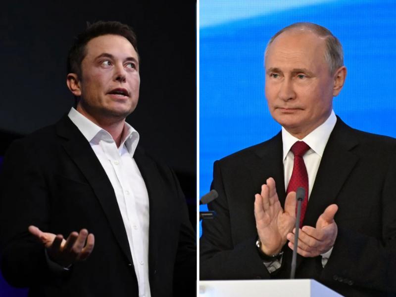 Putin Ilon Maskning loyihasiga raqobatchi texnologiyani ma'qulladi