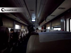 Андижонда тўхтаб қолган поезд бўйича расмий маълумот берилди