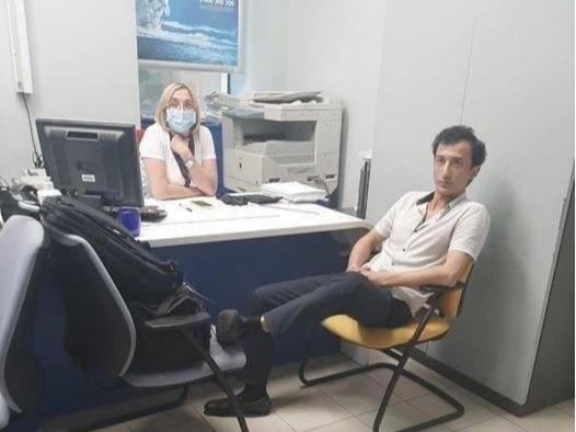 Украинада ўзбекистонлик эркак банкни портлатиб юборишга уринди