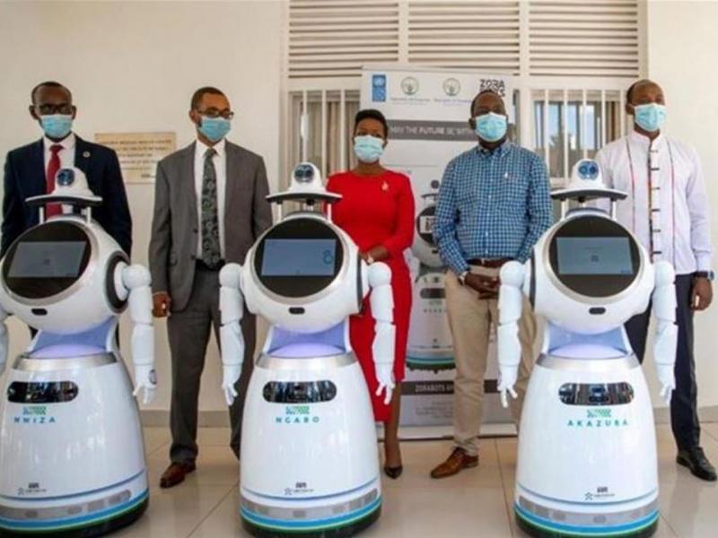 Руанда давлатида коронавирусга қарши кураш учун роботлар ёлланди