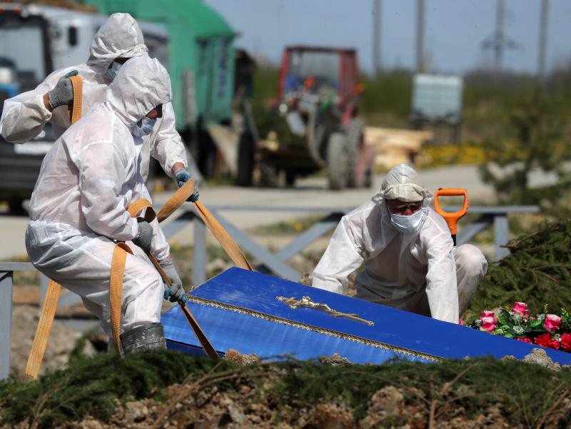 Rossiyada koronavirusdan kunlik o'lim bo'yicha antirekord qayd etildi