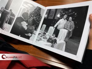 Ислом Каримов хотира альбомига қизларининг сурати киритилмади