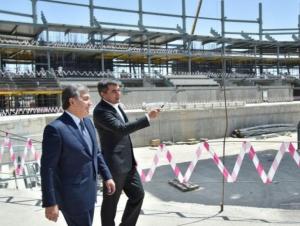 """Президент """"Tashkent City"""" ва """"Humo Arena""""га келиши кутиляпти"""