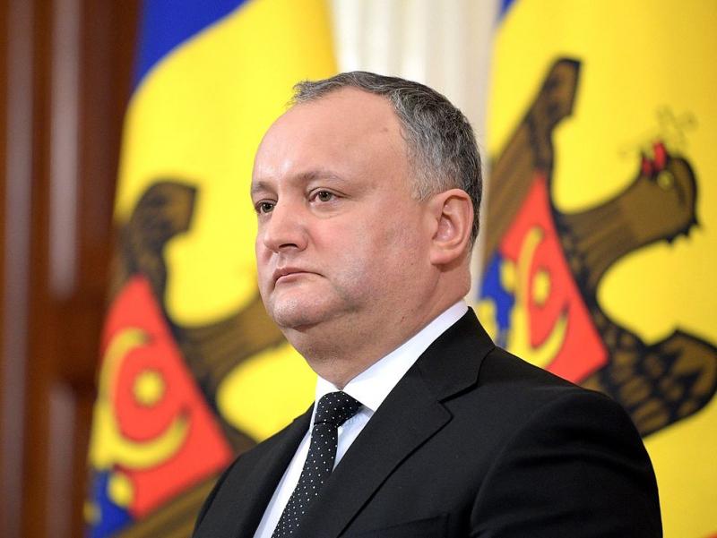 Молдова Президенти ваколатидан маҳрум қилинди