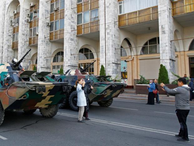 Расман: Бишкек қисман тинчиди