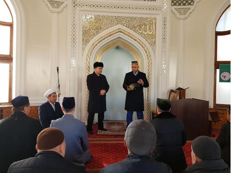 Toshkentda qator masjidlar imom-xatiblari o'zgardi