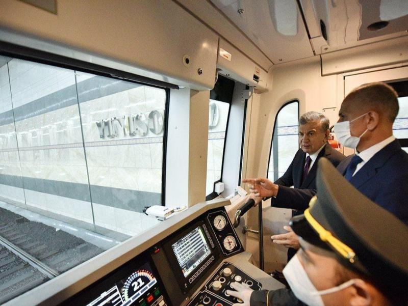 Россия Ўзбекистонга яна 10 та метро поездини етказиб беради