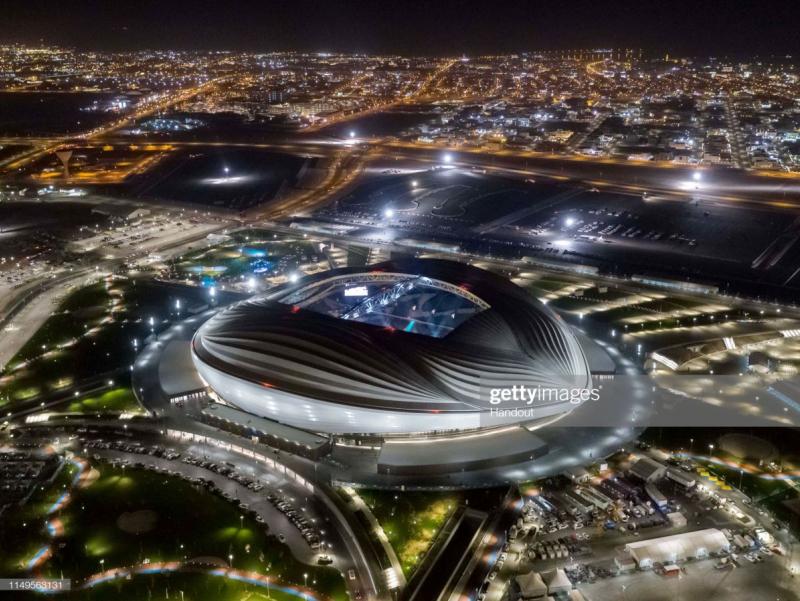 Фото: ЖЧ - 2022 учун қурилган илк стадион очилди
