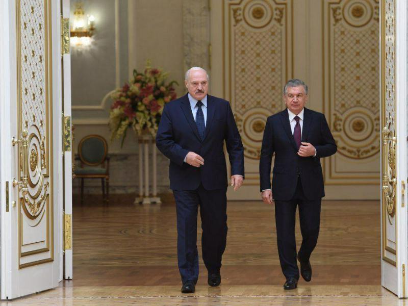Mirziyoyev va Lukashenkoning qo'shma bayonoti