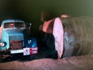 Хоразмдаги ноқонуний цехдан 17 тонна нефть топилди