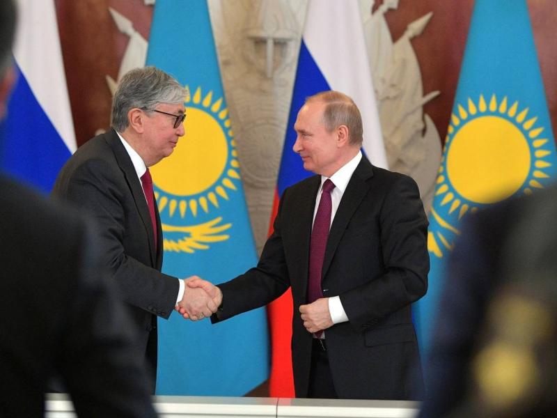 To'qayev Putin bilan Qozog'istonda vaksina chiqarishga kelishib oldi
