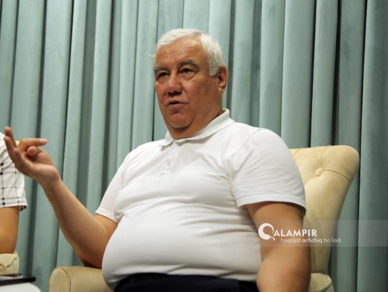 O'zbek futbolida tizim yo'q — Mirzahakim To'xtamirzayev