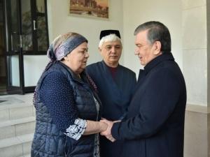 Шавкат Мирзиёев Мираброр Усмонов оиласига таъзия билдирди