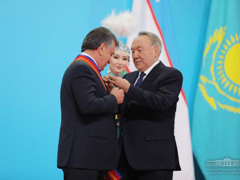 Шавкат Мирзиёев Нурсултон Назарбоев билан телефонда мулоқот қилди