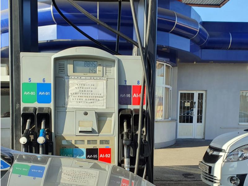 Ўзбекистонда Аи-80 Люкс маркали бензин сотувга чиқарилди