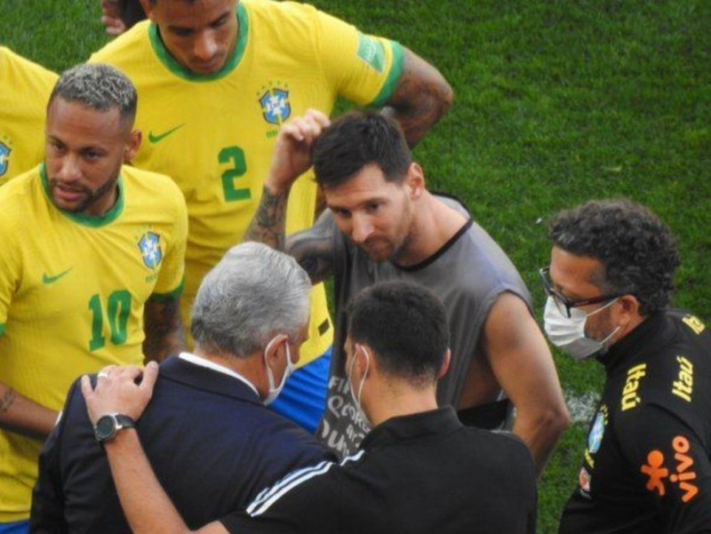 Месси Бразилия билан ўйиннинг бекор қилингани ҳақида фикр билдирди