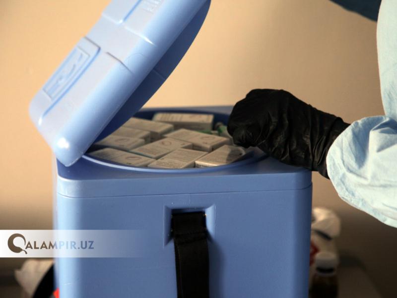 Ўзбекистоннинг 3 вилоятида 100 минг дозадан ортиқ вакцина қўлланилди