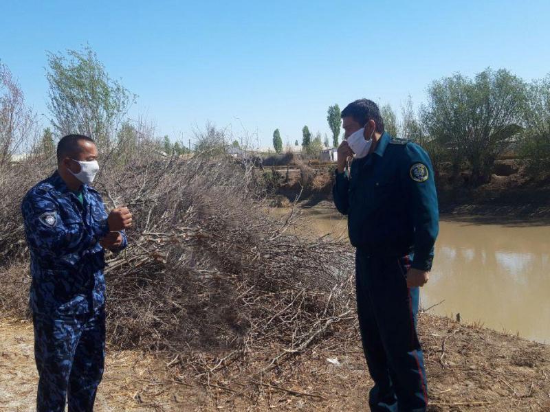 Profilaktika inspektorlari cho'kayotgan ayolni qutqarib qoldi