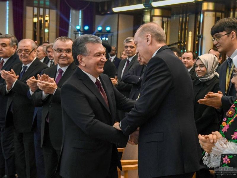 """""""Doğum gününüz kutlu olsun"""". Erdo'g'an Mirziyoyevni 64 yoshi bilan tabrikladi"""