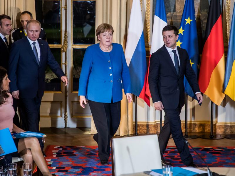 Germaniya Rossiya Ukrainaga tajovuz qilsa, chora ko'rishini ma'lum qildi