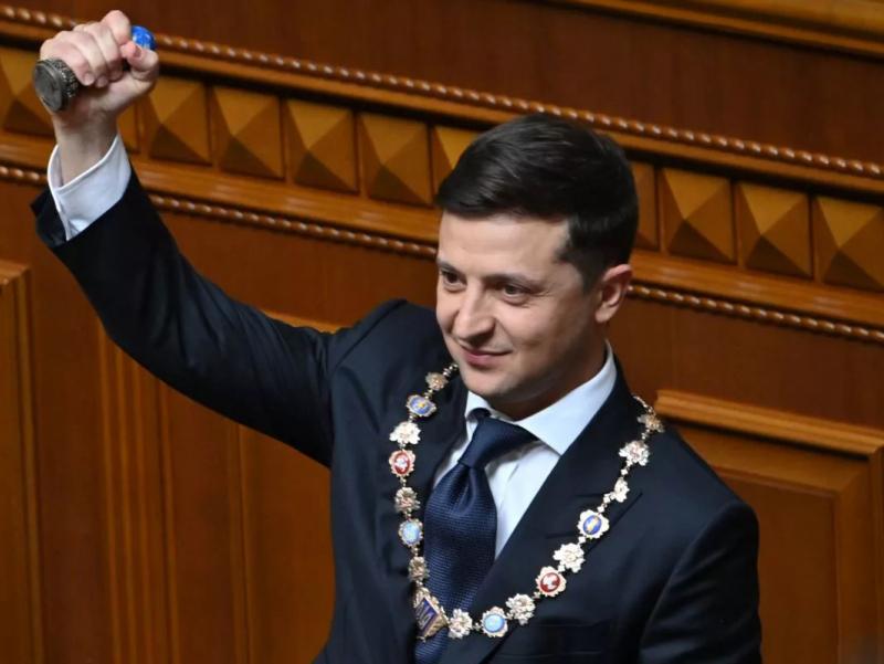 Зеленский Украинанинг сўнгги Президенти бўлиши мумкин
