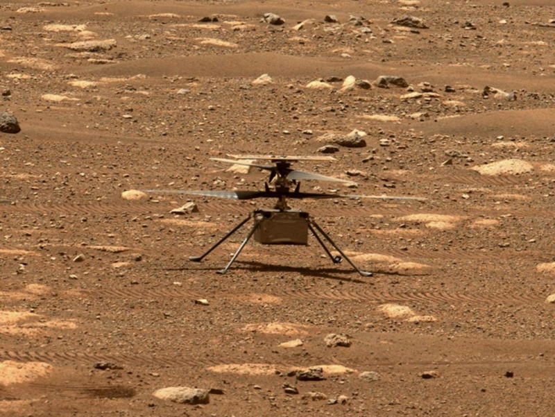 NASA вертолёти Марсда илк парвозини муваффақиятли амалга оширди