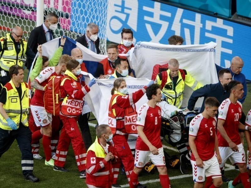 Эриксеннинг ҳаётини сақлаб қолганларга UEFA мукофот топширади