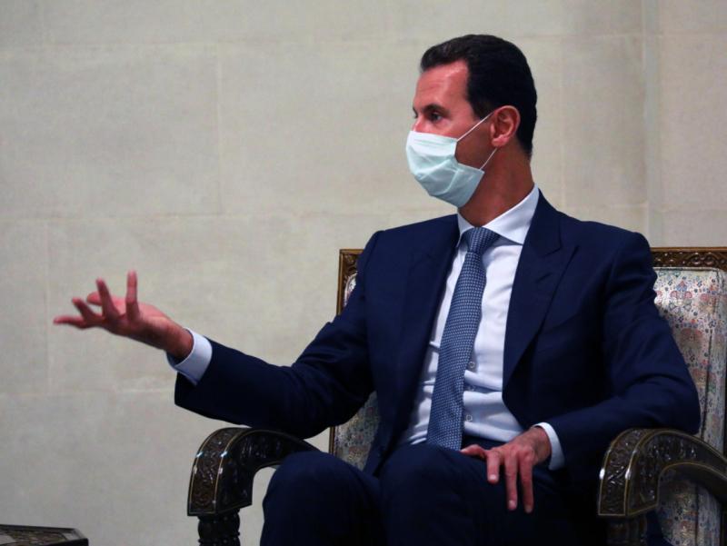 Сурия Президенти Россия вакцинаси билан эмланди