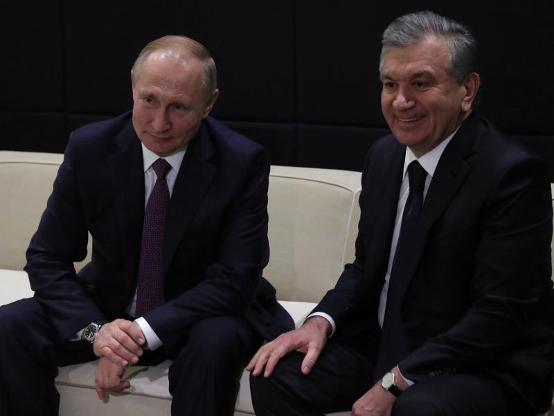 Шавкат Мирзиёев Путинни табриклади