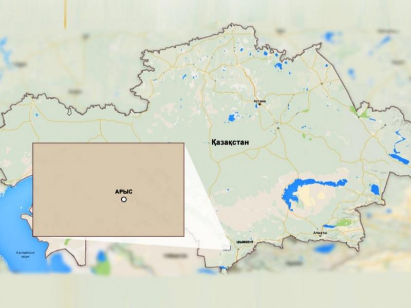 Тошкентдан 180 км узоқликдаги шаҳар аҳолиси портлаш сабаб эвакуация қилиняпти
