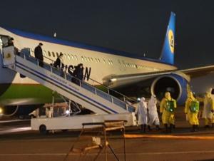 Учинчи эвакуация самолёти ўзбекистонликлар билан Тошкентга қўнди