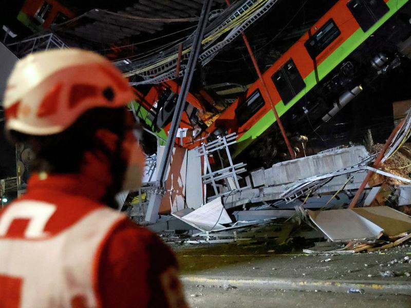 Мехикодаги метро кўпригининг қулаши сабаби очиқланди