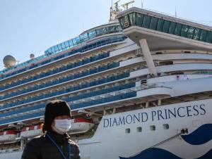 """Карантиндаги """"Diamond Princess"""" кемасида 450 киши коронавирусга чалинди"""