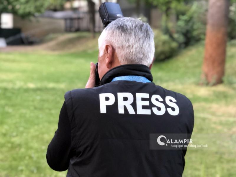 Jurnalist daxlsizligi ta'minlanmas ekan so'z va matbuot erkinligi xayollarda qolaveradi
