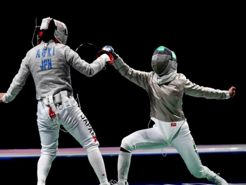 Токио-2020; қиличбоз Зайнаб Дайибекова 3-рақамли спортчини мағлуб этди