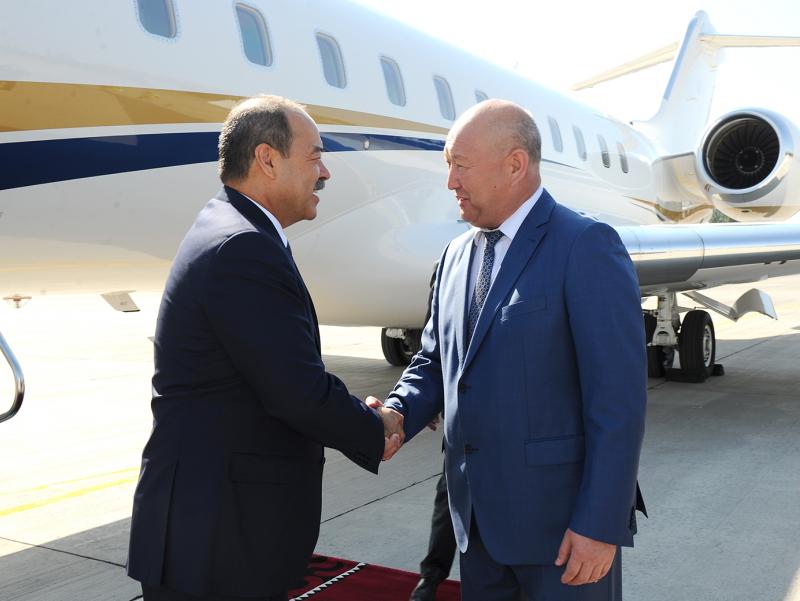 Арипов Қирғизистонга борди