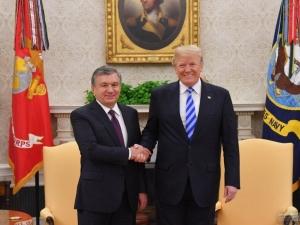 Дональд Трамп Президент Шавкат Мирзиёевга табрик йўллади