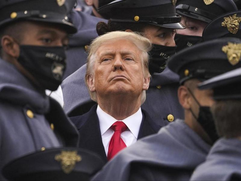 АҚШдаги тўполон: Трамп тарафдорларига нима деди?