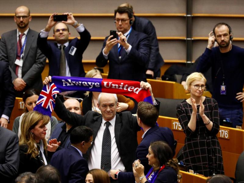 Интиҳо яқин: Европарламент Brexit`ни маъқуллади