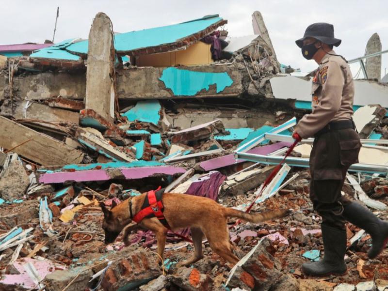 Индонезиядаги кучли зилзила қурбонлари сони тобора ортмоқда