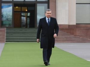 Шавкат Мирзиёев Наманганга жўнаб кетди
