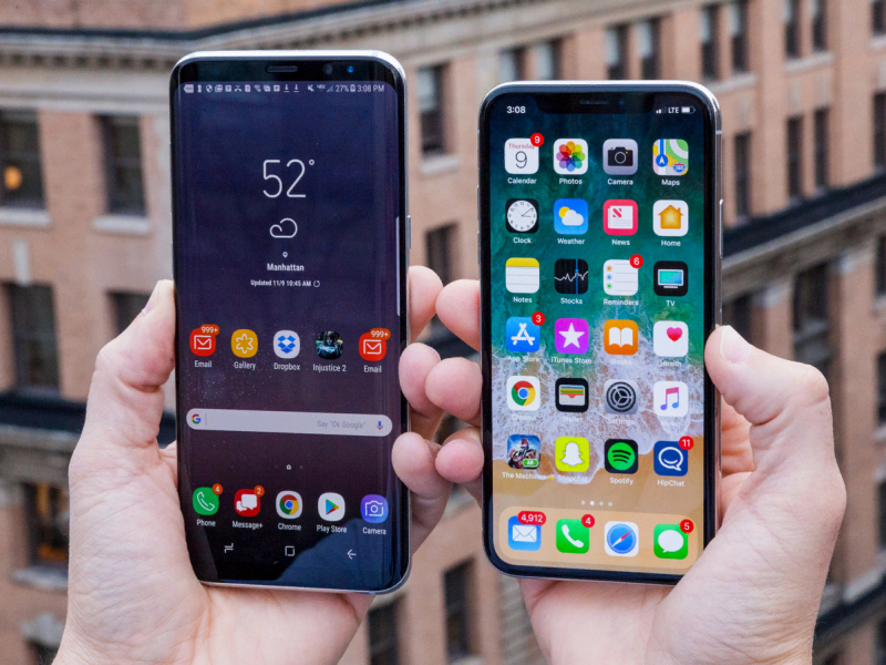 Samsung Apple'ни ортда қолдирди