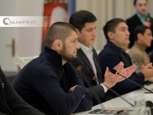 Ҳабиб Нурмуҳамедов Отабек Умаровга миннатдорлик билдирди
