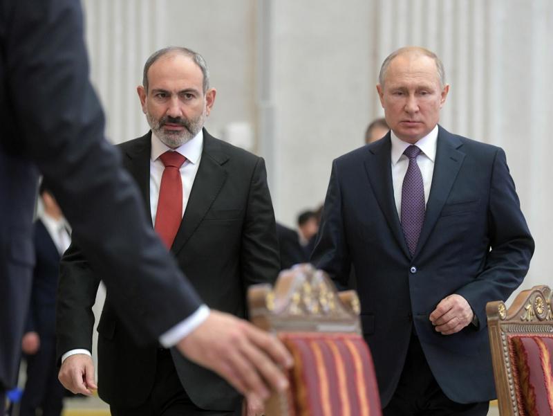 Пашинян Путиндан ҳарбий ёрдам сўради