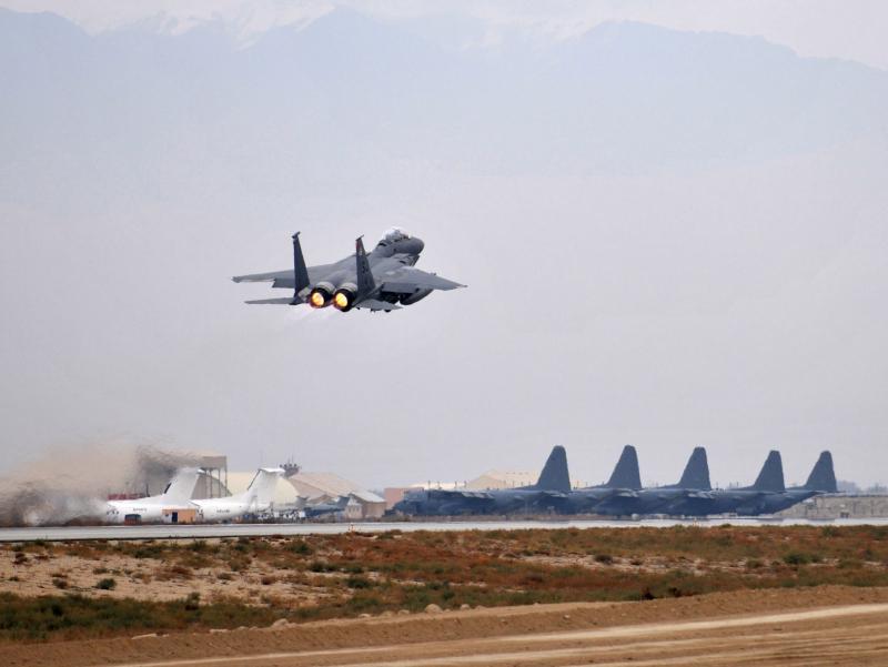 АҚШнинг Афғонистондаги авиабазасига ракета ҳужуми уюштирилди